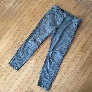 J. Crew utility ankle zip pants